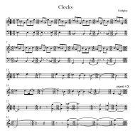 Clocks (Coldplay, arr. Fischbacher)