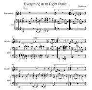 Everything In Its Right Place (Radiohead, arr. Fischbacher)