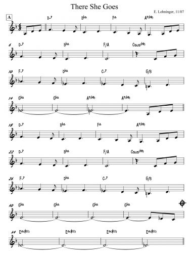 There She Goes